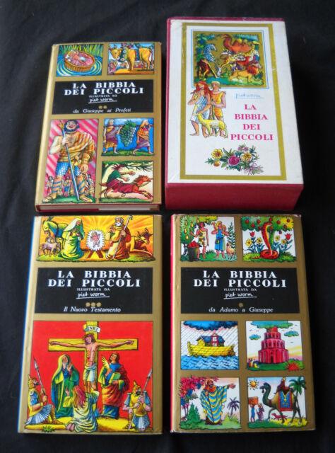 La Bibbia dei piccoli (illustrata da Piet Worm) - Salani 1960 (1° edizione)