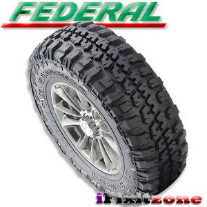 1pc Federal Couragia M/T 33X12.50R20 Mud Tires LT 33X12 ...