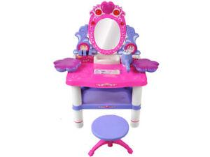 Studio di bellezza tavolo toeletta per bambini specchiera toeletta