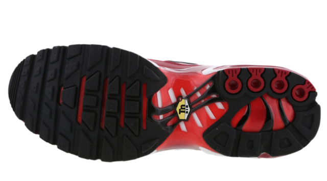 Nike Air Max Plus Tuned 1 TN Tough rotschwarzChile Rot