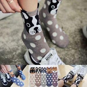 Lovely-Soft-Women-Socks-Cute-3D-Cartoon-Animal-Dogs-Cats-Ear-Cotton-Warm-Socks