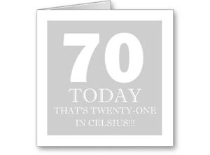 Unique-Typographic-Personalised-70th-Silver-Birthday-Card-Gift-Male-Female
