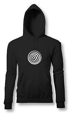 Op-Art Psychedelic Circles Hoody | Kapu | Techno | Optic | Acid | div. Farb.