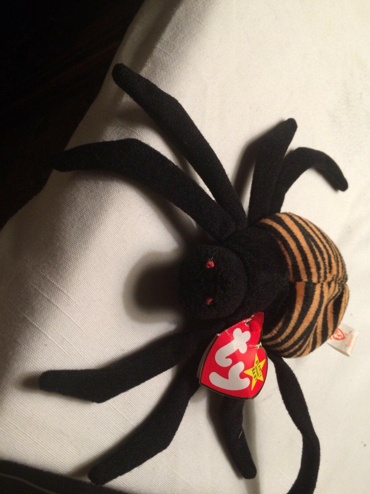 SPINNER THE SPIDER BEANIE BABY BABY BEANIE - NEW WITH TAG a09eee