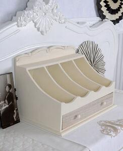 besteckkasten holz shabby chic schublade weiss. Black Bedroom Furniture Sets. Home Design Ideas