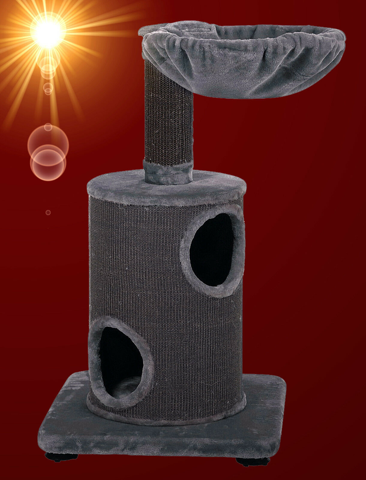 NOBBY Qualität  ️ KATZEN KATZEN KATZEN KRATZBAUM 105 cm  ️ Kletterbaum Möbel mit 1  Tonne  7bd4e9
