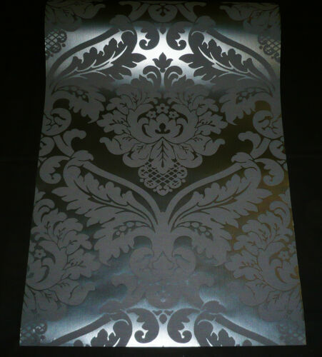 ANGEBOT 5526-31 1 Rolle Vinyltapete BLACK BAROCK Ornament Tapete schwarz