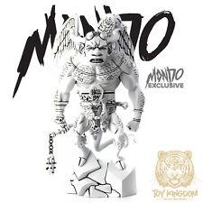 "Mondo FIRST HELLBOY 12"" Polystone Statue - EXCLUSIVE BLACK & WHITE VERSION"