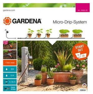 Tropfsystem schwarz GARDENA Basisgerät 2000