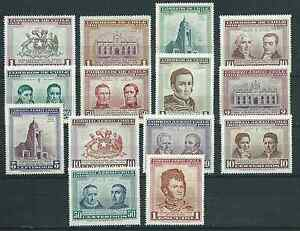 """CHILE 1960 """"Sesquicentenario"""" 1810-1960 full set MNH top quality"""