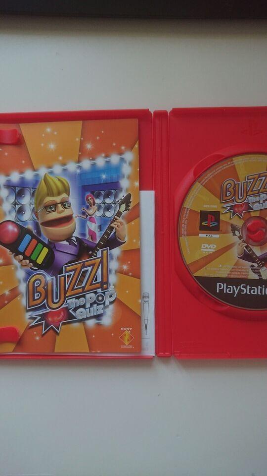 Buzz The pop quiz, PS2