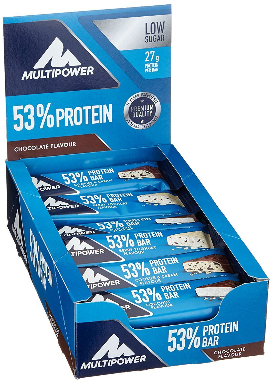 (35 (35 (35 33  1kg) Multipower 53% Protein Bar (24x50g) - wählbarer Geschmack b3f80e