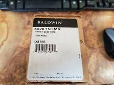 Baldwin Hardware 5001.030.MR Crystal Ball Knob Indoor Door