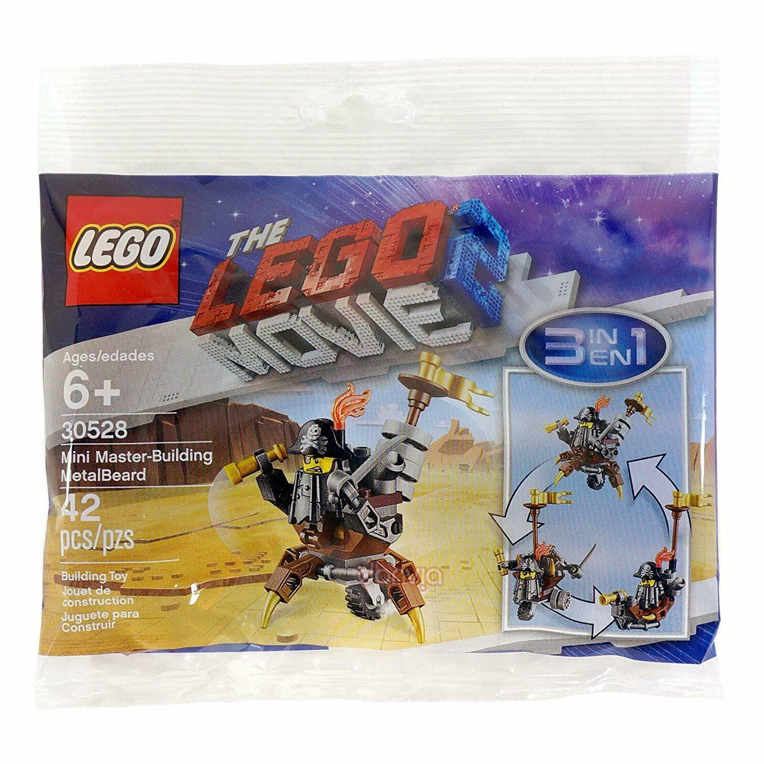 Lego 30528 Movie Metalbeard 2 Lot XiuZPk