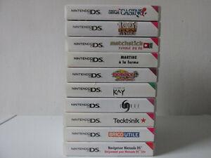 Lot 10 Jeux Nintendo DS