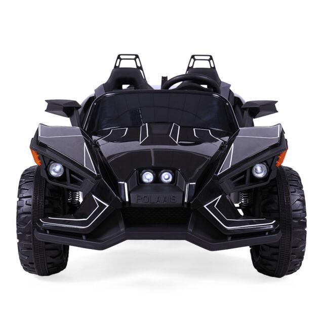 5c5db181b45 12V Electric Kids Ride On Racing Car Battery powered w  MP3 Remote Control  Black