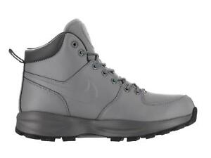 Mens-NIKE-MANOA-Cool-Grey-Leather-Trainers-Boots-472780-002