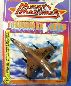 Imperial-Die-Cast-Mighty-Machines-Thunder-Jets-8771-USAF-1994-Sealed-Vintage