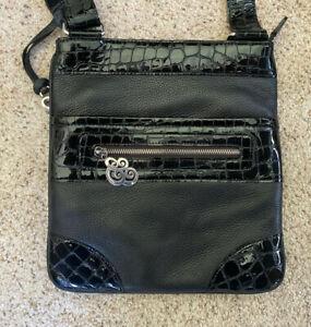 Brighton-Women-039-s-Black-Leather-Handbag