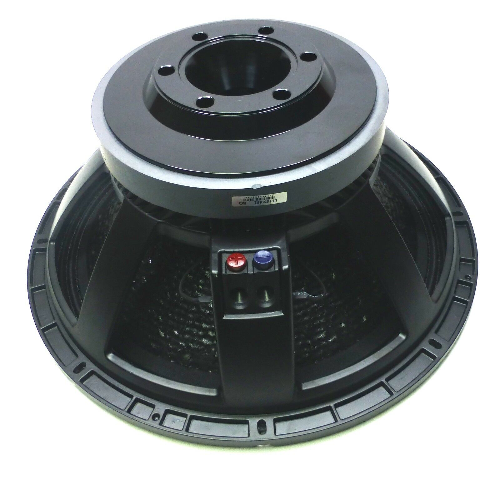 "LASE  LF18-3600 18/"" Low Frequency 8 Ohm Woofer Speaker w// 4/"" Voice Coil."