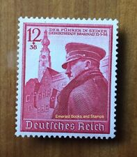 EBS Germany 1939 Hitler's 50th Birthday - Geburtstag Hitlers - Michel 691 MNG