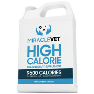Dog Weight Gain Supplement 1 2 Gallon Of Miracle Vet