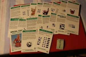 Details about Games Workshop Epic 40k Space Marines Armageddon Cards Tokens  Rules Bits Orks A1