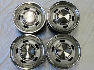 FORD-FALCON-5-SLOT-RIM-SET-OF-4-SUIT-XR-XT-XW-XY-GT-HO-GS-SMALL-CENTRE-14-X-6