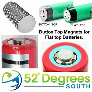 18650-18350-Button-Top-Magnet-Change-Flat-Top-Battery-to-Button-Top