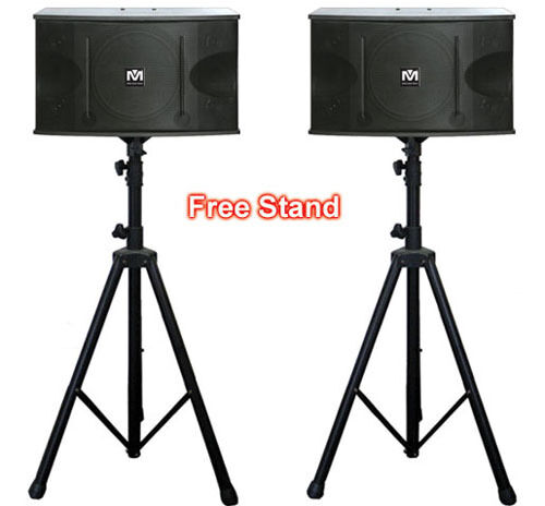 CS612 G3 Better Music Builder 600W Karaoke Music Vocal Speakers FREE STANDS