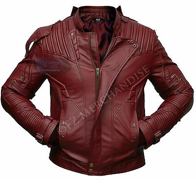 Guardians of the Galaxy 2 Star Lord Chris Pratt Synthetic Leather Jacket