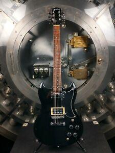 Jay-Turser-Black-Electric-Guitar