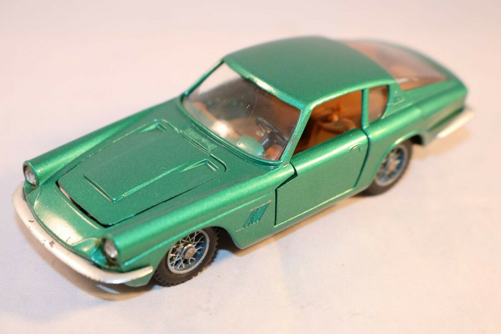 Mebetoys A 10 A10 Maserati Mistral coupe green near mint condition 1 43