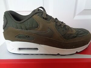 best website 0e07c c0617 Image is loading Nike-Air-Max-90-Prem-womens-trainers-443817-