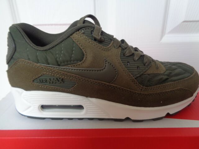 Nike Femmes  Air Air  Max 90 Prem Trainers 443817 300 BasketS Chaussures UK 89a96e