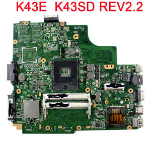 for ASUS X202E Q200E S200E Motherboard With ULV1007U  60-NFQMB1K01-A04 Tested