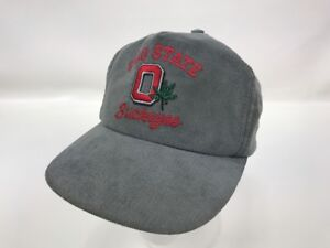 196a55c2a54 ... clearance image is loading vintage ohio state buckeyes snapback hat  corduroy script 9e840 3432f ...