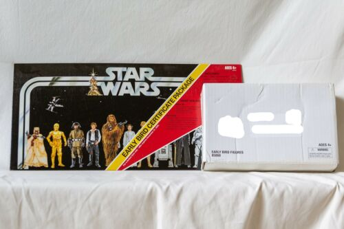 Star Wars 2005 Early Bird Figures and Early Bird Certificate Hasbro Sealed