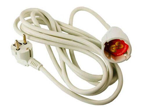 5m rallonge câble d/'alimentation câble d/'alimentation schuko GS testé