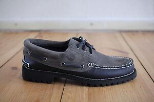 Poesia chilometri Giorno dei bambini  Timberland Boat 3 Eye Grey Black Navy Blue Size 40,41,42,43,44,45,46,47,48  NEW | eBay