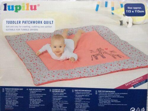 Toddler Patchwork Quilt