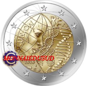 2-Euro-Commemorative-France-2020-Recherche-Medicale-NEUVE