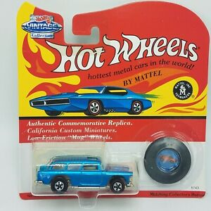 Hot-Wheels-Vintage-Collection-Classic-Nomad-w-Matching-Button