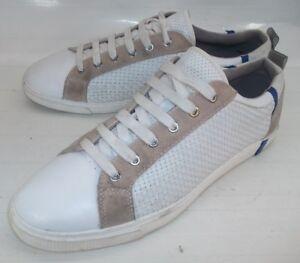 in scamosciata da bianca 10 43 Uomo Sneakers 4531 Us pelle Eu beige uomo Scarpe Zara RPzwEqx7x