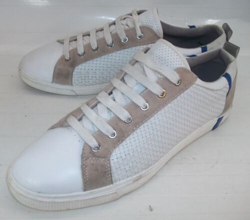 10 in Zara Eu pelle Uomo scamosciata bianca uomo 43 Scarpe da Sneakers Us 4531 beige Z8zpZq