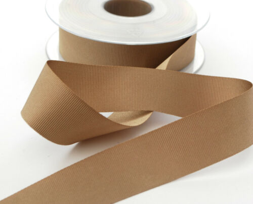 Choice of colours Berisfords Grosgrain Ribbons 25mm width 2 or 5 metre lengths