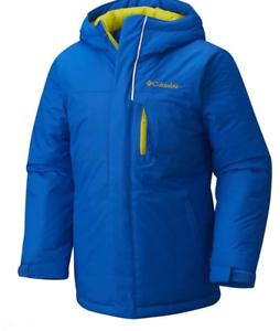 Columbia-Free-Fall-Alpine-Ski-Jacket-Junior-Boys-Blue-Size-UK-10-12-Years-REF139