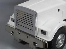 New Aluminum Front Grill Billet Guard Mesh Tamiya 1/14 Semi King Grand Hauler