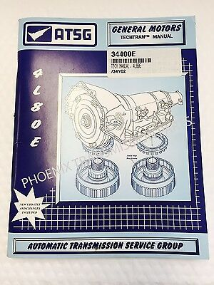 4L80E Transmission ATSG Technical Service and Repair Manual for GM | eBay