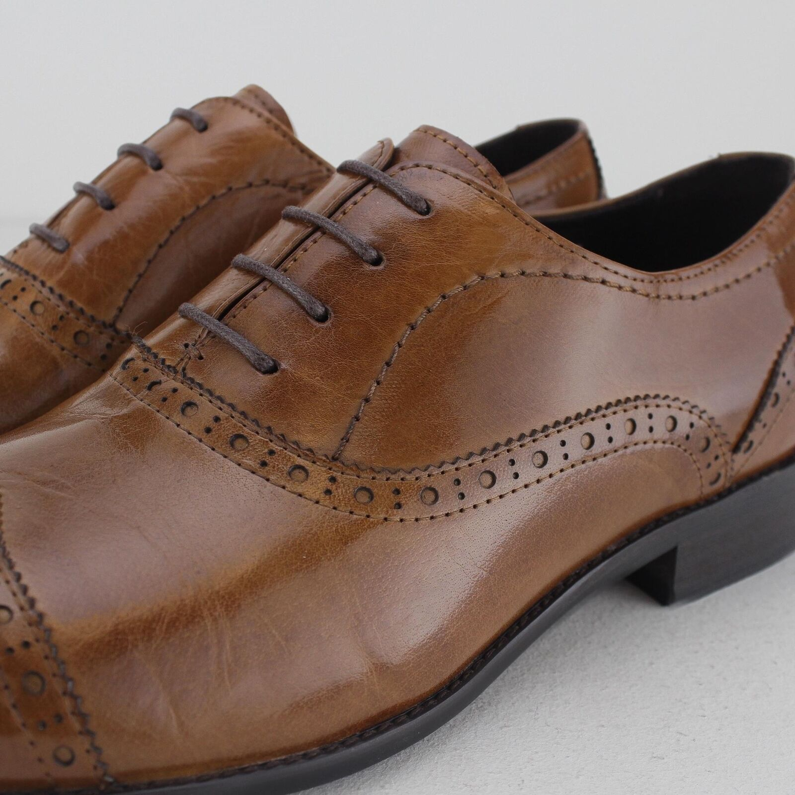Blakeseys Mens Smooth Leather Formal Office Smart Toe Cap Oxford Oxford Oxford schuhe Brogues 6b1e95